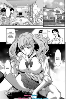 A Highschooler Bitch Gyaru's Incestuous Sex With Her Father Angry At Her For Prostituting Herself - Foto 1