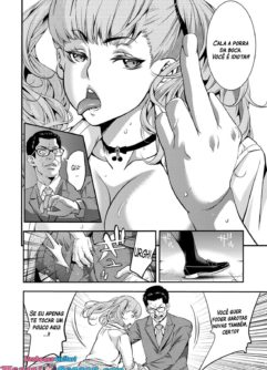 A Highschooler Bitch Gyaru's Incestuous Sex With Her Father Angry At Her For Prostituting Herself - Foto 10
